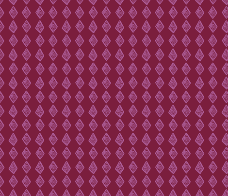 African-Diamond-3-Page-Pink fabric by angie_mac on Spoonflower - custom fabric