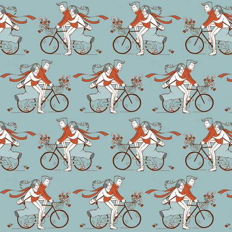 young love fabric by theboutiquestudio on Spoonflower - custom fabric