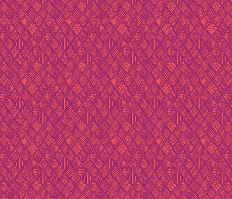 African-Page-Pink fabric by angie_mac on Spoonflower - custom fabric