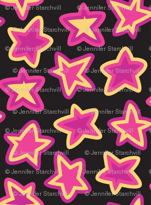 Star Striped Scatter