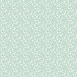 Mini Dot in blue & green