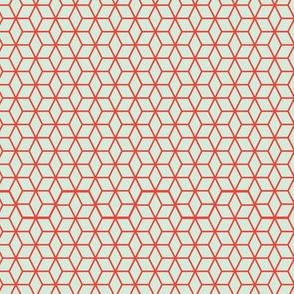 Blue and Red Star Lattice