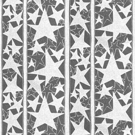 Weathered Stars fabric by meduzy on Spoonflower - custom fabric