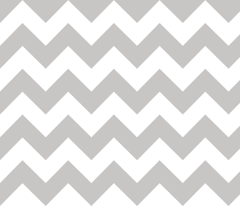 Chevrons Gray fabric by alihenrie on Spoonflower - custom fabric