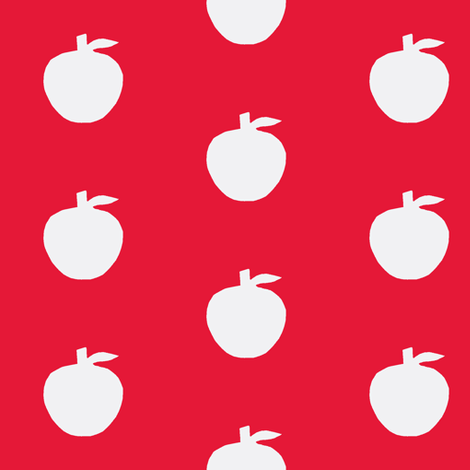 Apple Redfield fabric by painter13 on Spoonflower - custom fabric