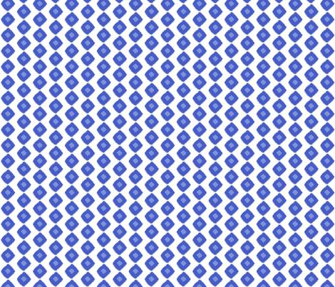 Ikat Square Blue