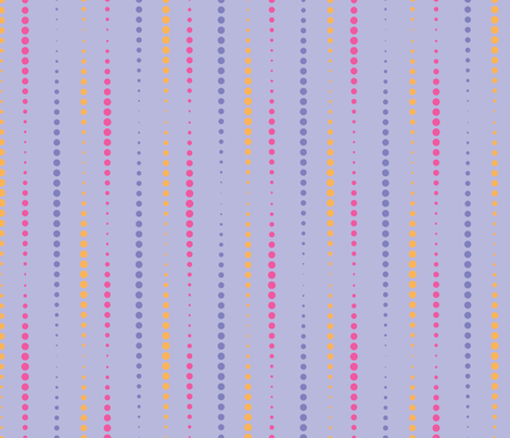 Dotty Stripe fabric by cottageindustrialist on Spoonflower - custom fabric