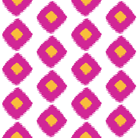 Ikat Square Festival fabric by lulabelle on Spoonflower - custom fabric
