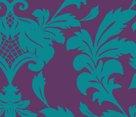 Damask7 fabric by aimeesthill on Spoonflower - custom fabric