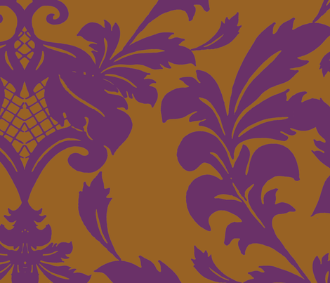 Damask3 fabric by aimeesthill on Spoonflower - custom fabric