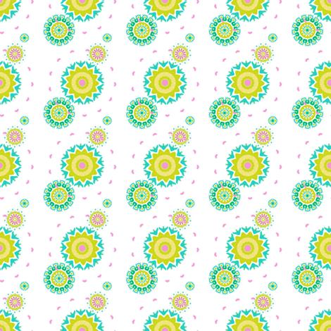 Summer Swing fabric by joanmclemore on Spoonflower - custom fabric