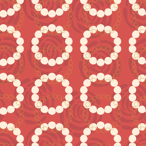 Midcentury_Cocktail_2_Dark_ATJ fabric by ajterrel on Spoonflower - custom fabric