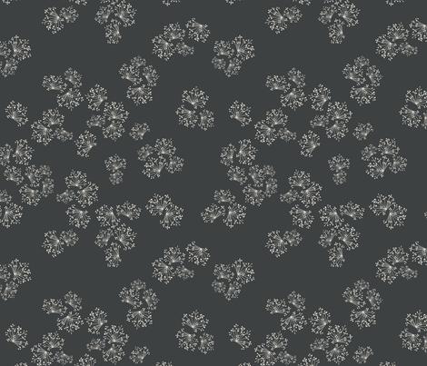 dandelions fabric by alisontauber on Spoonflower - custom fabric
