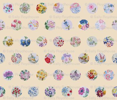 vintage_flower_circles