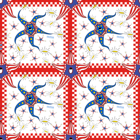 Festus Quilt Block fabric by maplewooddesignstudio on Spoonflower - custom fabric