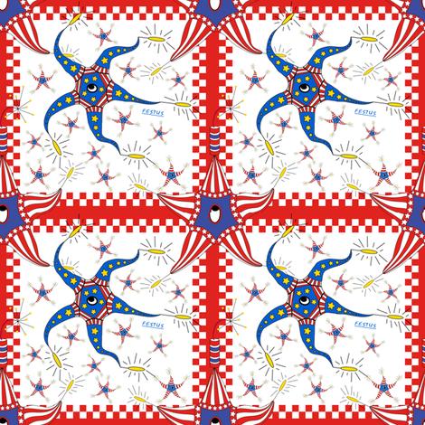 Festus Quilt Block fabric by maplewooddesignstudio on Spoonflower - custom fabric