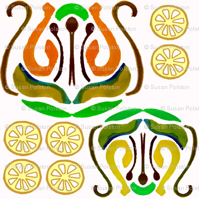Lemon Ikat