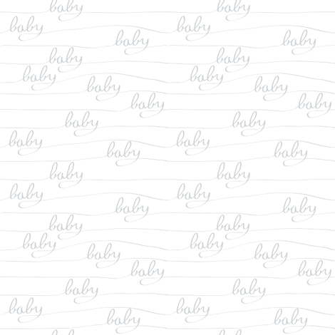 Baby Baby Grey fabric by bartlett&craft on Spoonflower - custom fabric