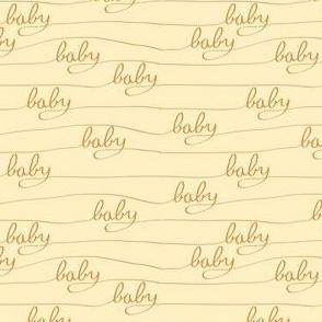 Baby Baby Orange