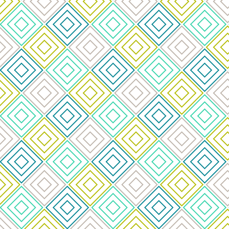 BlueDiamonds fabric by mrshervi on Spoonflower - custom fabric