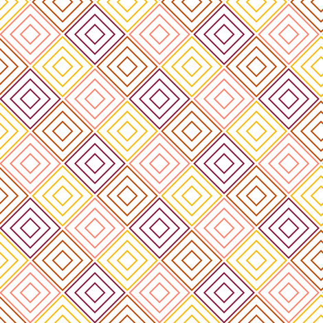 PinkDiamonds fabric by mrshervi on Spoonflower - custom fabric