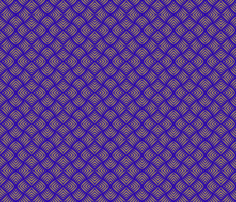 Mitered Squares fabric by fireflower on Spoonflower - custom fabric