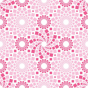 Kaleidoflowers (Pinks)