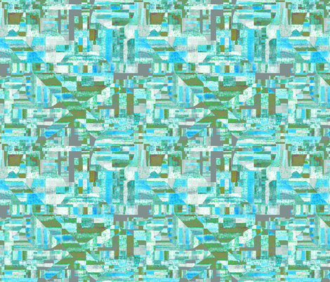 The iceman cometh fabric by su_g on Spoonflower - custom fabric