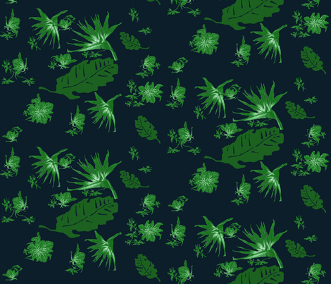 porter_beach_green fabric by paragonstudios on Spoonflower - custom fabric