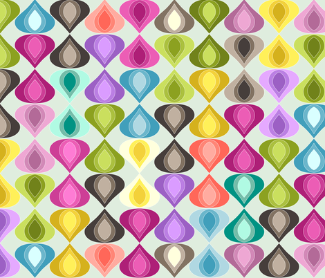 large candy gouttelette fabric by scrummy on Spoonflower - custom fabric