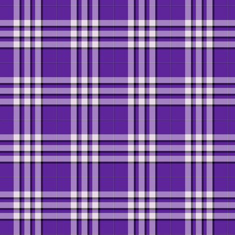 Shinobu's Plaid fabric by gabi-hime on Spoonflower - custom fabric