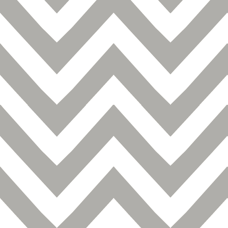 chevron light grey fabric by katarina on Spoonflower - custom fabric