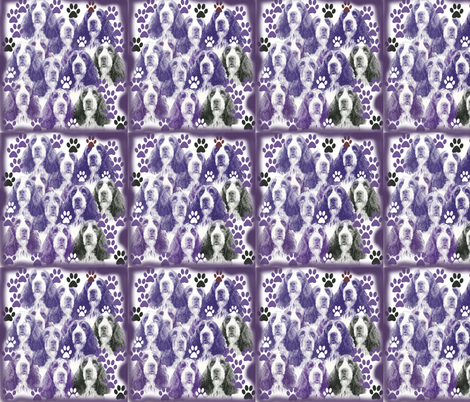 Springer_Spaniel_fabric fabric by dogdaze_ on Spoonflower - custom fabric