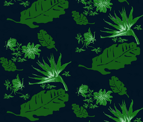 porter beach green fabric by paragonstudios on Spoonflower - custom fabric