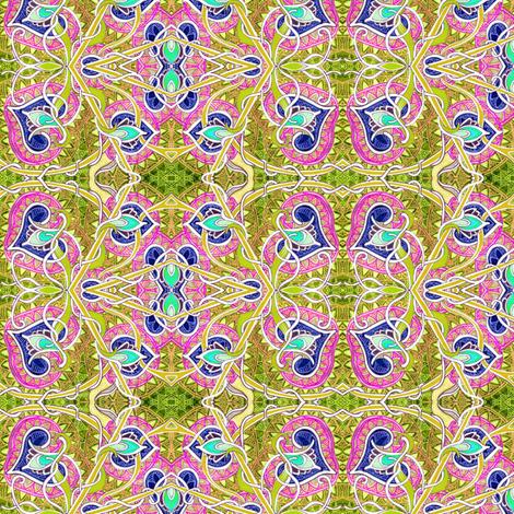 The Love Vine fabric by edsel2084 on Spoonflower - custom fabric