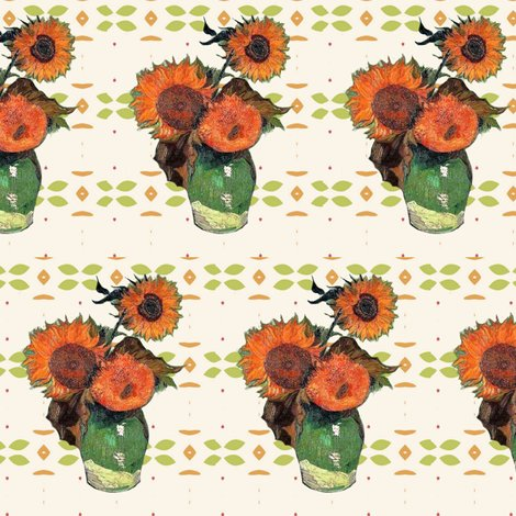 Rrrrrrrvan_gogh_sunflowers_green_orange_pattern_shop_preview