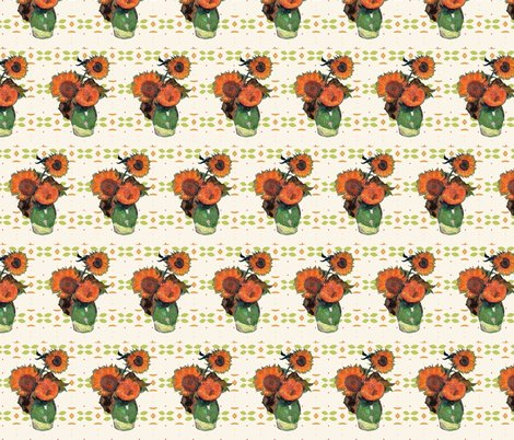 Rrrrrrvan_gogh_sunflowers_green_orange_pattern_shop_preview