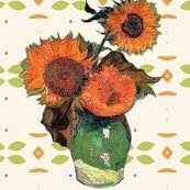 Rrrrrrvan_gogh_sunflowers_green_orange_pattern_shop_thumb
