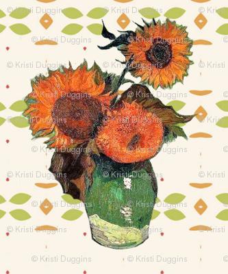 Van Gogh's Sunflowers // Southwestern Floral