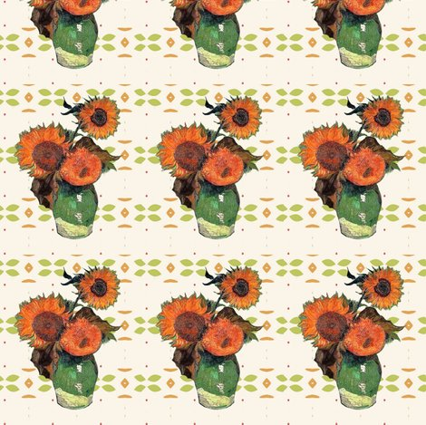 Rrrrvan_gogh_sunflowers_green_orange_pattern_shop_preview