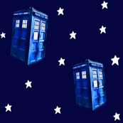 Doctor Who Inspired TARDIS on Starfield