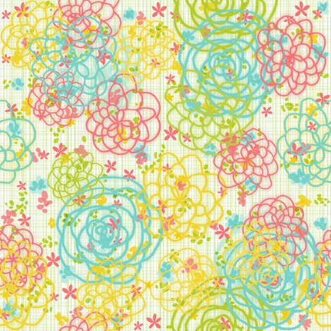 Garden Fresh fabric by kfay on Spoonflower - custom fabric