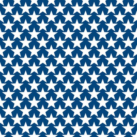 Small Star fabric by fig+fence on Spoonflower - custom fabric