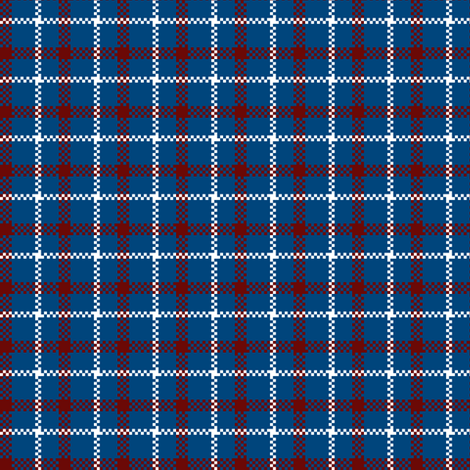 Rustic Americana Plaid fabric by fig+fence on Spoonflower - custom fabric