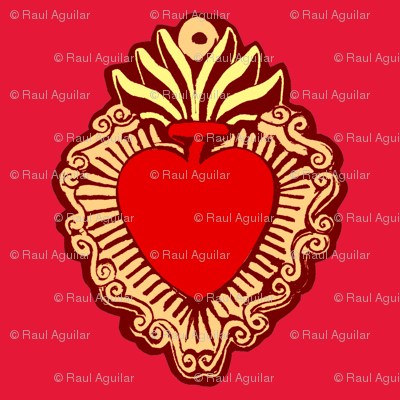 Milagro Red Background