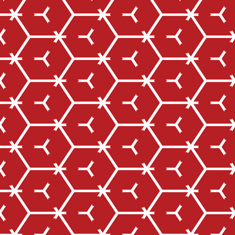 Honeycomb Motif 6 fabric by animotaxis on Spoonflower - custom fabric