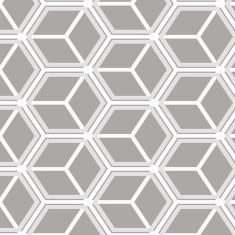 Honeycomb Motif 16 fabric by animotaxis on Spoonflower - custom fabric