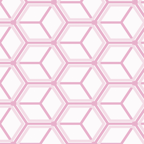 Honeycomb Motif 19 fabric by animotaxis on Spoonflower - custom fabric