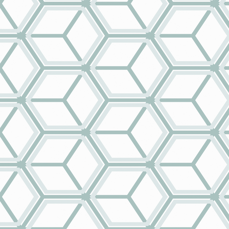 Honeycomb Motif 20 fabric by animotaxis on Spoonflower - custom fabric