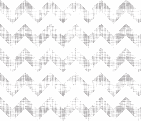 Chevron Sketch Chinchilla fabric by honey&fitz on Spoonflower - custom fabric